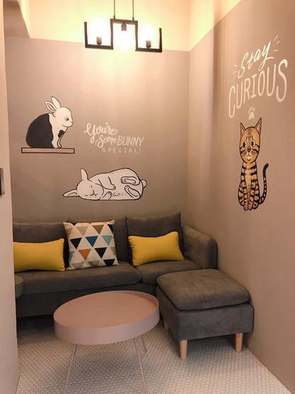 壁畫彩繪|寵物旅館