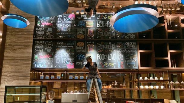 黑板畫|公設咖啡廳