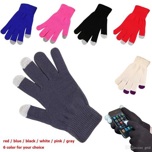 306c6a02063 Docena guantes Touch para celular