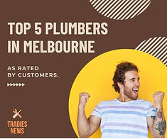 Tope 5 plumbers in melbourne