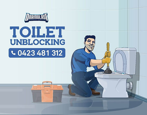 If your toilet is gurguling or running slow call drain blast plumbing melbourne for all your blocked toilet needs. blocked toilet melbourne plumbing