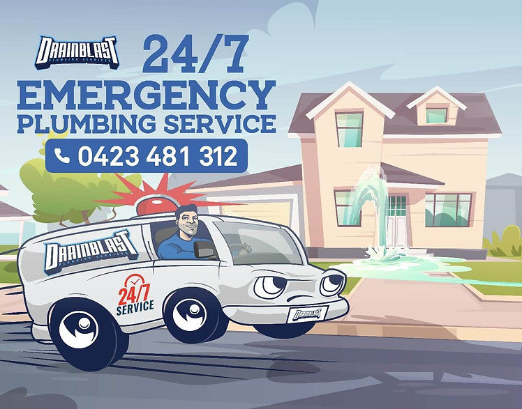 IF YOU NEED AN EMERGENCY PLUMBER CALL DRAIN BLAST PLUMBING 24 HOUR 7 DAYS A WEEK