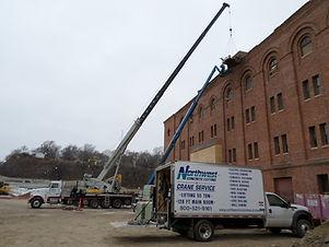 Northwest Crane and Rigging Industries Structural Steel Erection