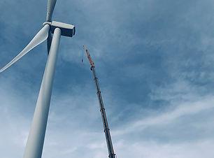Northwest Crane and Rigging Industries Renewable Energy