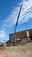Northwest Crane and Rigging Industries Pre-Cast Erection