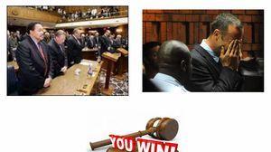 win court case