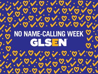 No Name-Calling Week! January 20-24, 2020