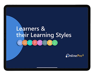 PDF Cover- Learners and the learning sty