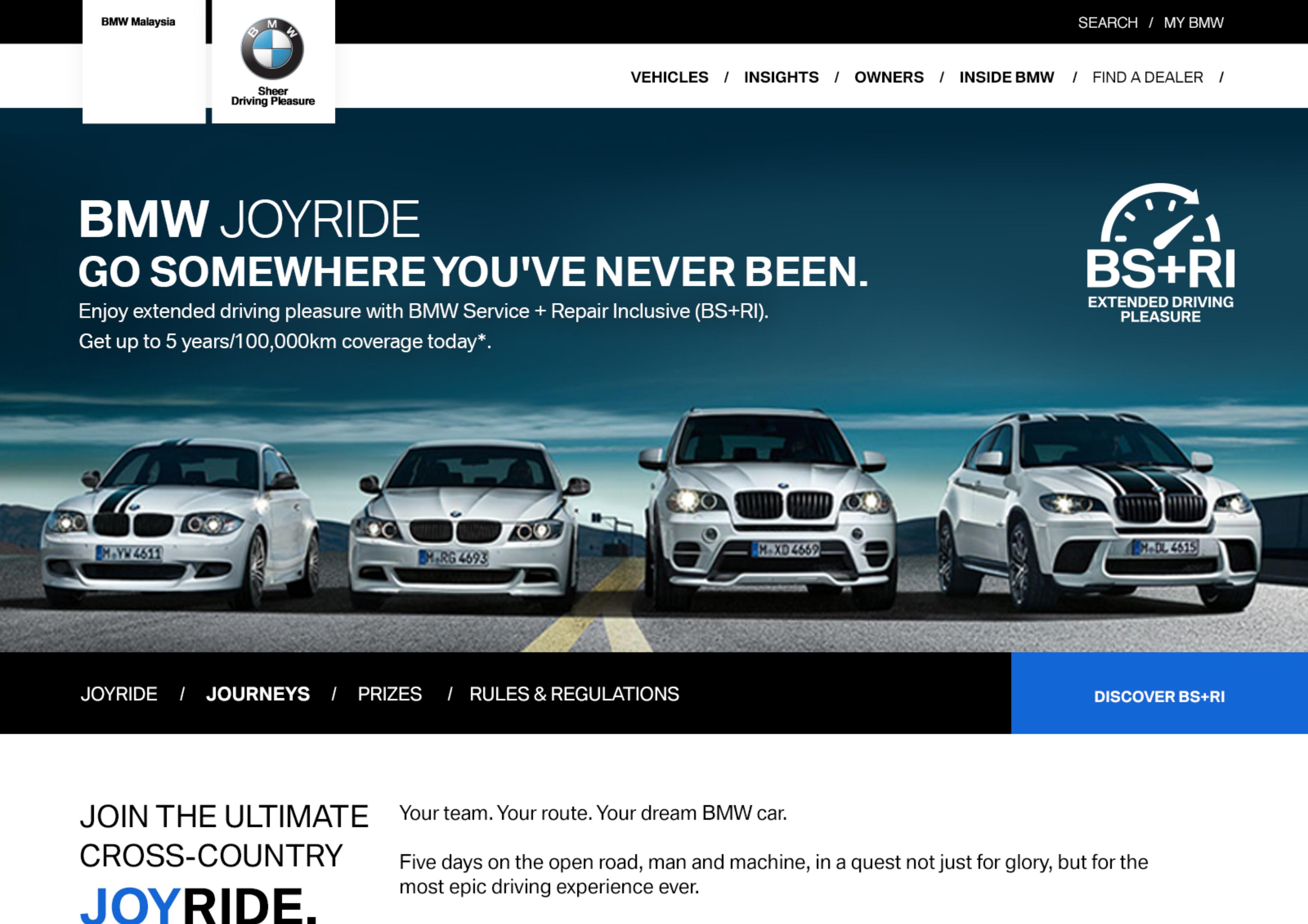 "BMW ""JoyRide"""