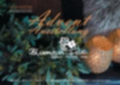 Adventflyer Blumenfee Vorderseite Origin
