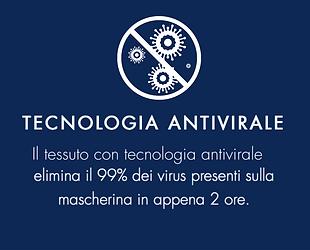 mascherine antivirali