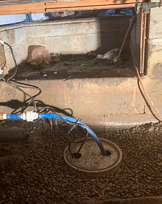 Crawl Space Sump Pump Installation By Chris Wood