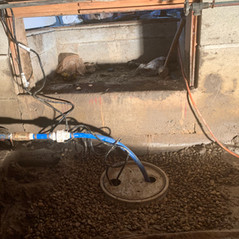Crawl Space Sump Pump Installation in Chatham Kent By Chris Wood
