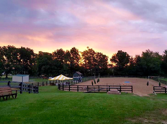 Outdoor Arena on Horseshow Day