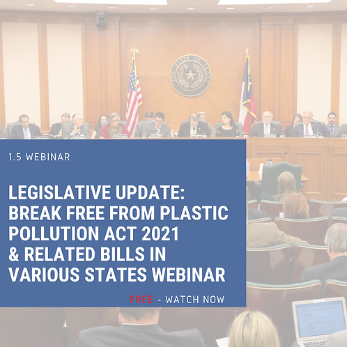 FREE National Legislation Webinar