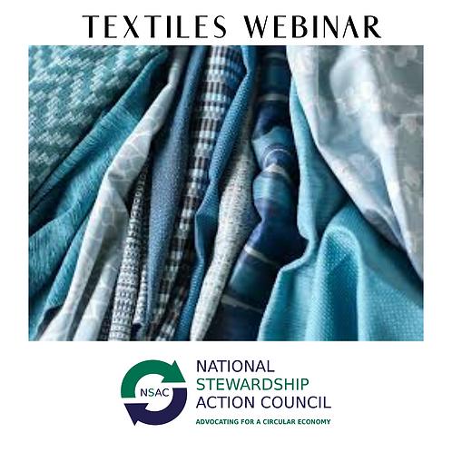 Textiles Webinar Recording