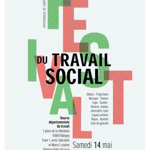 RDV: Festival du travail social le samedi 14 mai 2016 à la Bourse du travail de Bobigny (93)
