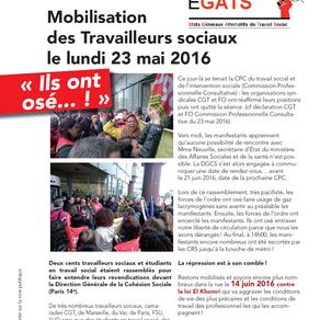Communiqué intersyndical du rassemblement devant  la cpc - lundi 23 mai 2016