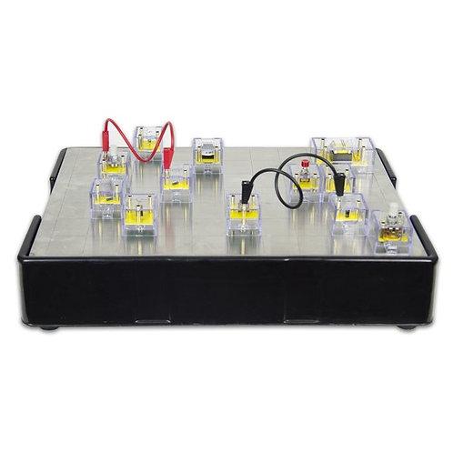 学校教材 電子工学実験学習キット 33種類の実験対応 F1-1