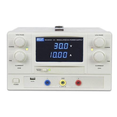 直流安定化電源 0〜30V 0〜20A M10-QS3020