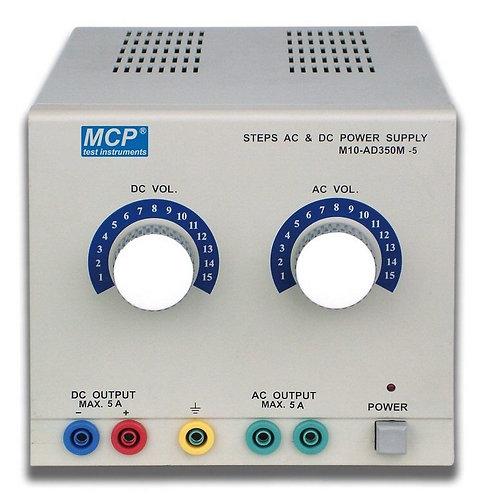 直流交流安定化電源 15V 5A M10-AD350M-5