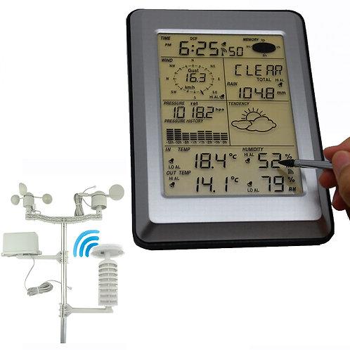 タッチスクリーンパネル付き気象ステーション WS5303