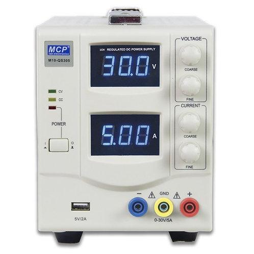 直流安定化電源 0〜60V 0〜3A M10-QS603