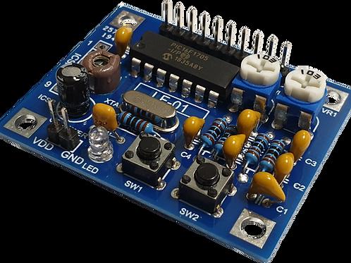 信号発生器基板工作キット LF-01