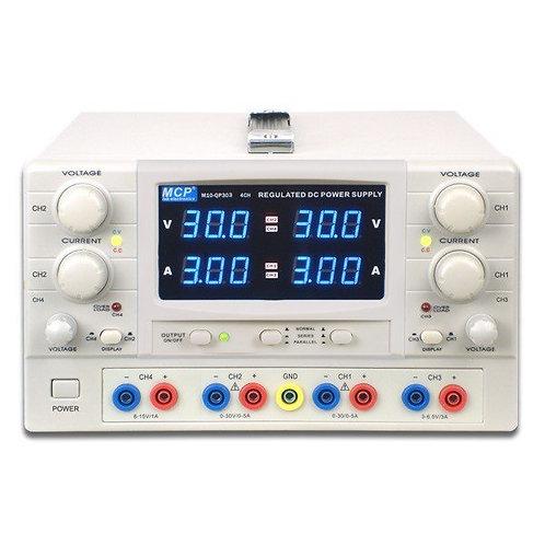 多出力直流安定化電源 4チャンネル M10-QP303