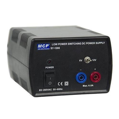 直流安定化電源 スイッチング方式 6V 12V 6A S7-1206