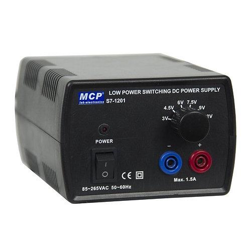 直流安定化電源 スイッチング方式 3V 6V 9V 12V S7-1201