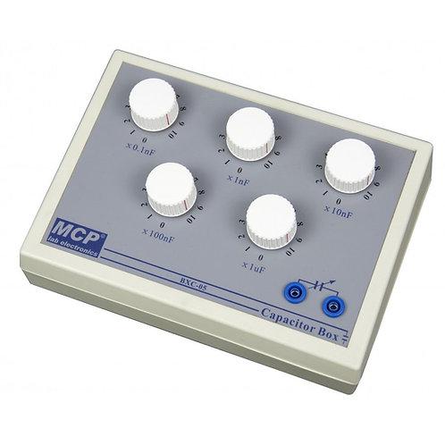 ダイヤル式可変コンデンサ 確度10% 0.1nF〜 10μF BXC-05