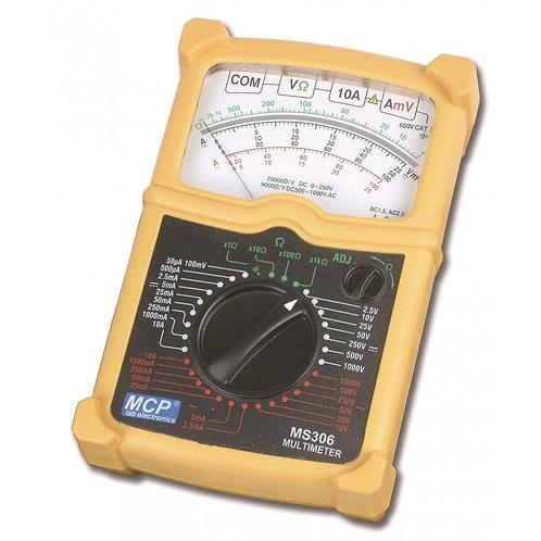 高性能マルチメータ 防水/二重絶縁 MS-306
