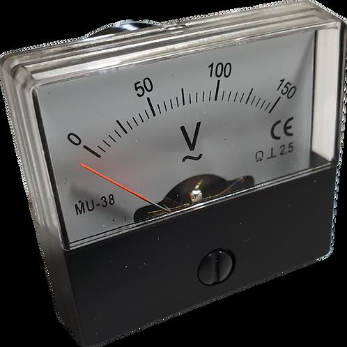 0~150V AC電圧パネルメータ MU38-AC150V