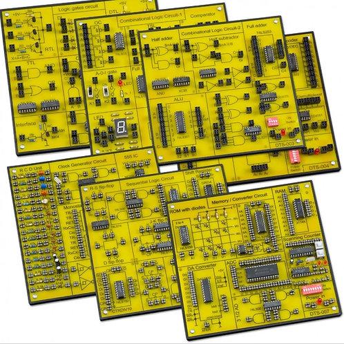 デジタル電子回路学習キット 7種の電子回路 DCL-7000