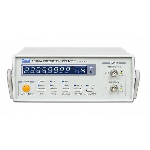 周波数カウンター 周波数・周期測定 10Hz~2.4GHz FC1024A
