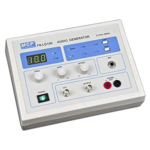 オーディオジェネレータ 低周波発振器 0.01Hz〜30kHz F8-LG100