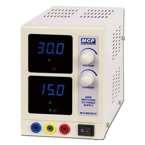 直流安定化電源 スイッチング方式 30V, 15A M10-MSS3015