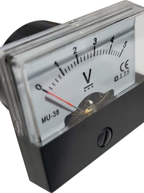 0~5V DC電圧パネルメータ MU38-DC5V