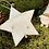 Thumbnail: Pure Wool Felt White and Gold Star Baby