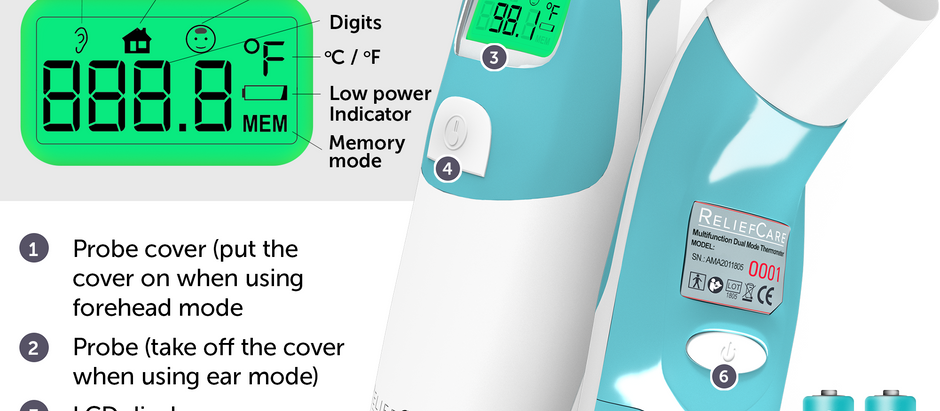 ReliefCare Thermometer