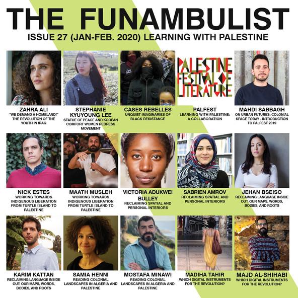 The Funambulist 25 Self-Defense - Line U