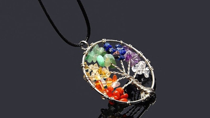 Tree of Life Chakra Necklace