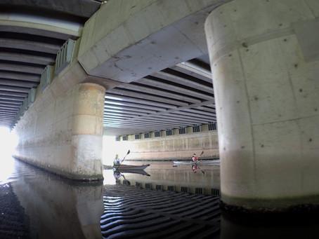 2021/07/12東京水路カヤックツアー(Aコース)