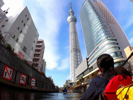 2020/12/27東京水路カヤックツアー:Aコース