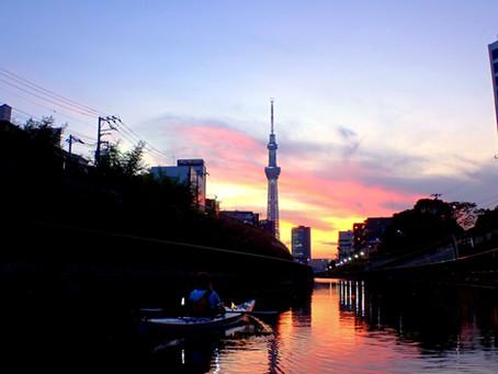 2021/07/21東京水路ナイトパドリング