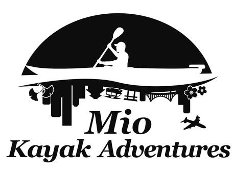 2020/09/19Mioカヤックのロゴが出来ました。