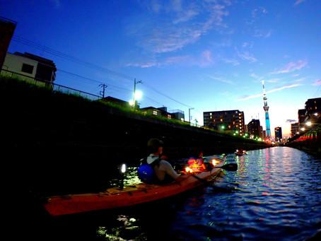 2021/07/22東京水路ナイトパドリング