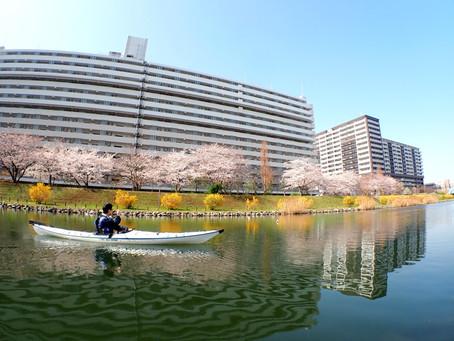 2021/03/25東京水路Bコース&ナイトパドリング