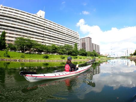 2021/07/17-18東京水路&羽田空港カヤックツアー